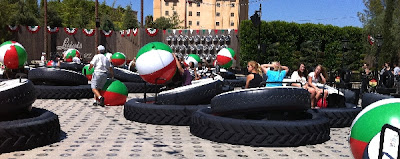 Luigi's Flying Tires Cars Land