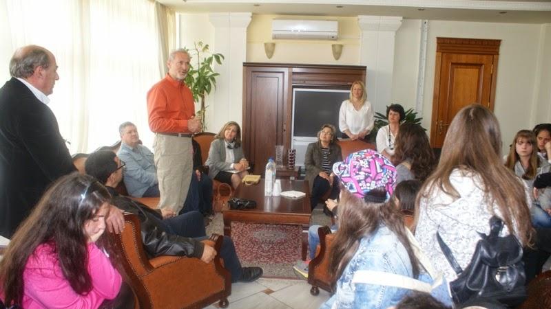 Επίσκεψη Κυπρίων μαθητών στην Αντιπεριφέρεια Καστοριάς (φωτογραφίες)
