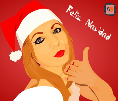 Dibujo de Feliz Navidad
