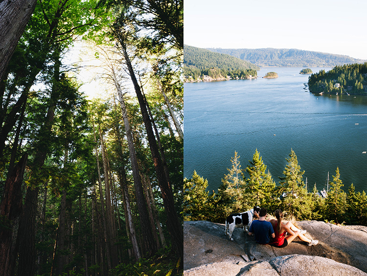 Hiking Deep Cove, Vancouver Canada