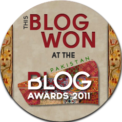 Blog Awards ' 11