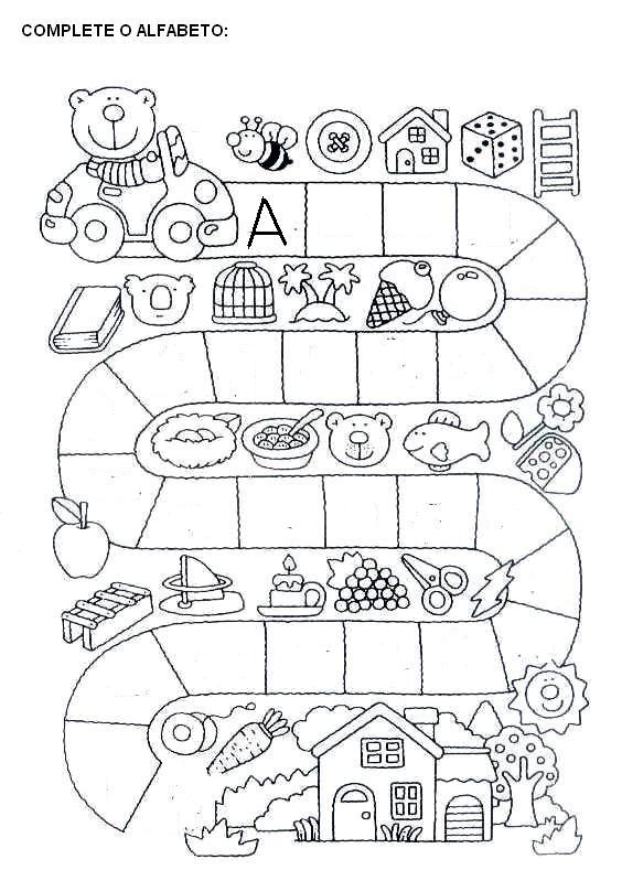 Super Alegria de Aprender na Educação Infantil: ATIVIDADES COM ALFABETO CA92