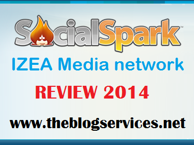 SocialSpark IZEA MEDIA Adnework Review