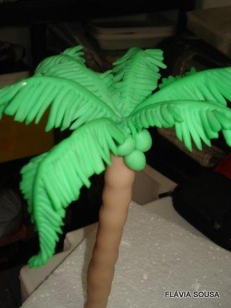 Как сделать пальму детям