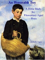 An Honorable Boy - A Bible Study for Elementary Aged Boys