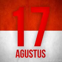 hari dimana indonesia memproklamrkan kemerdekaan sekarang hari