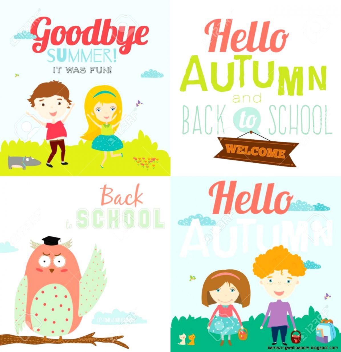 Goodbye Summer Hello School 22589  WEBNODE