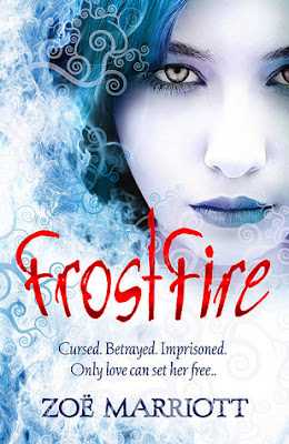 Book cover of Frostfire by Zoe Marriott