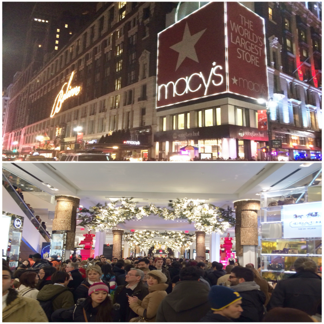 mace's herald square new york city christmas