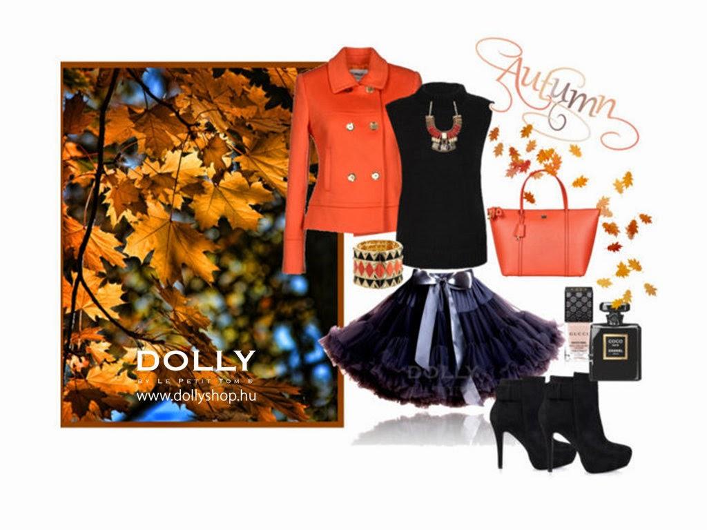 Tüllszoknyában ősszel