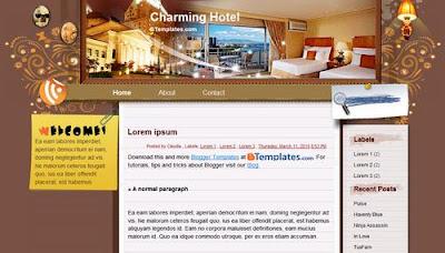 Plantilla hoteles Blogger