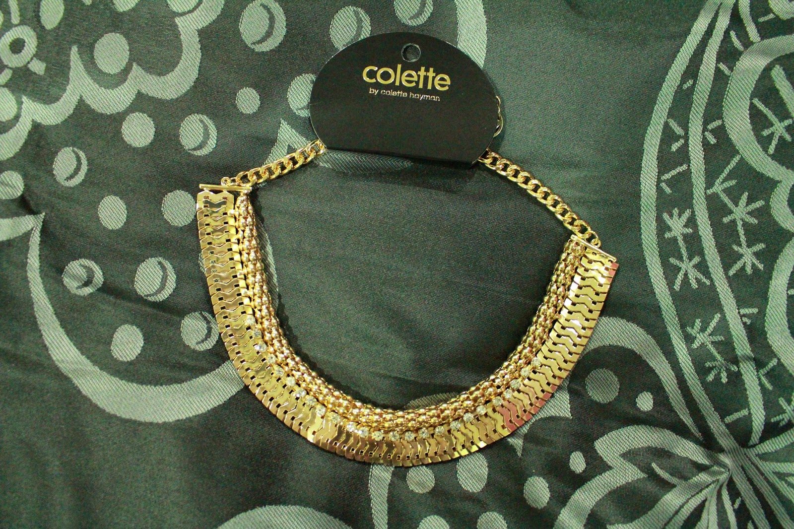 Colette Hayman Cobra Diamante Necklace