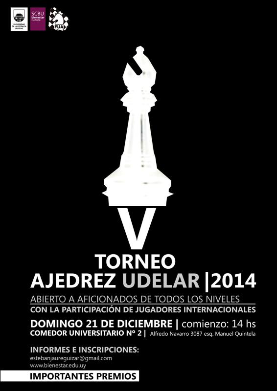 V Torneo de Ajedrez UdelaR