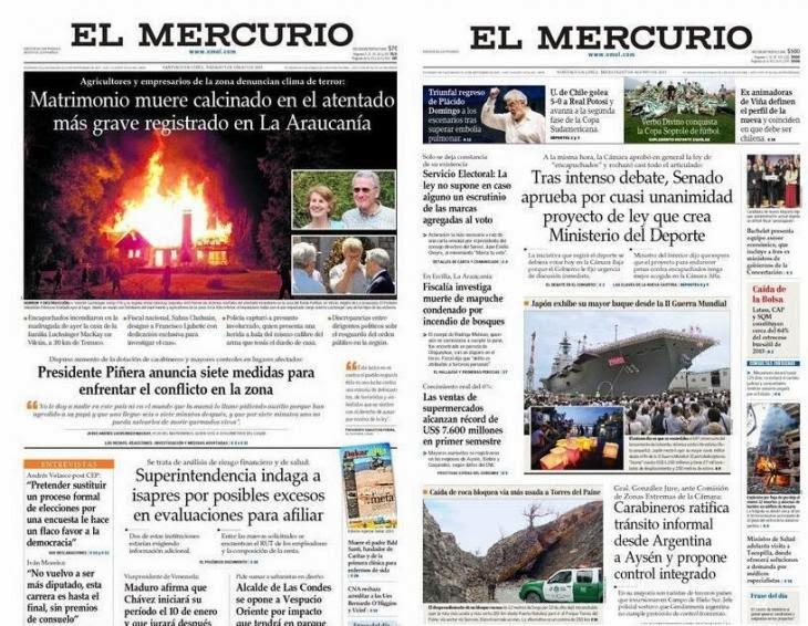 MERCUCHO TERRORISTA MEDIATICO ESTADO GENOCIDA CHILENO