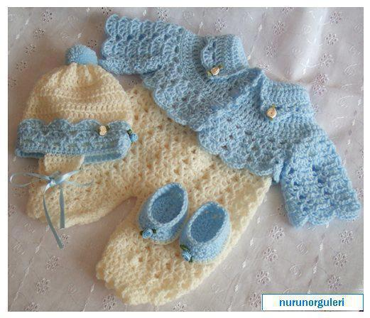 Малыш вязание крючком