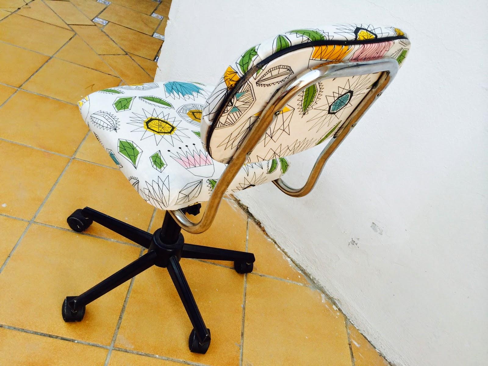 El blog de lorenna tapizar silla despacho - Sillas de plastico ikea ...