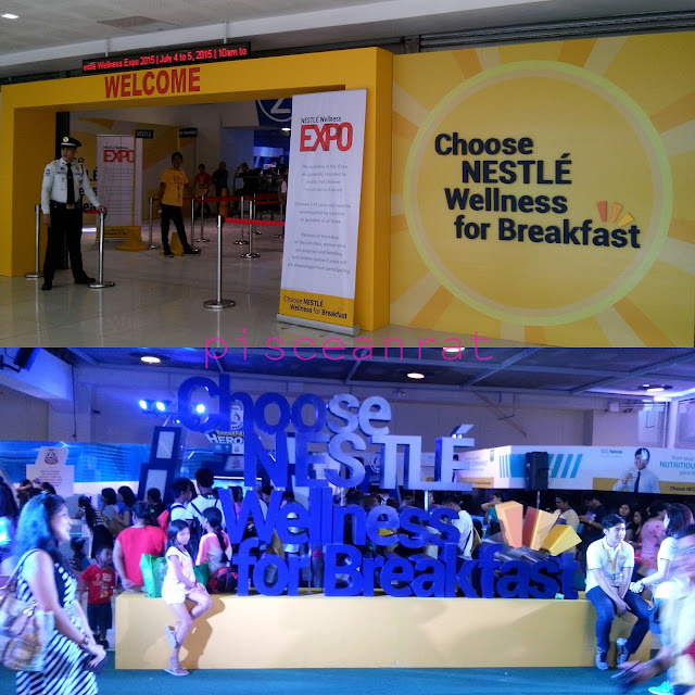nestle choose wellness expo, nestle expo megatrade,
