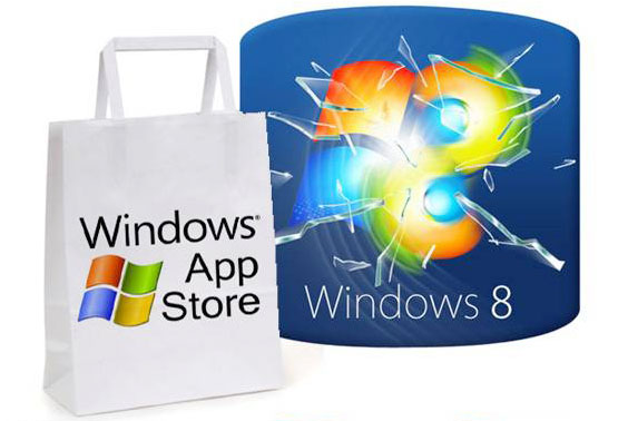 Windows 8 - Previewing the Windows Store, Microsoft Tablet OS Until 2012, Windows 8, Apple App Store, app store iphone, app store mac