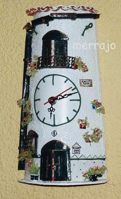 Manualidades merrajo & yoli: Tejas decoradas