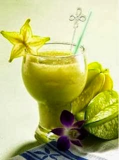 Star Fruit Apple Kiwi Juice
