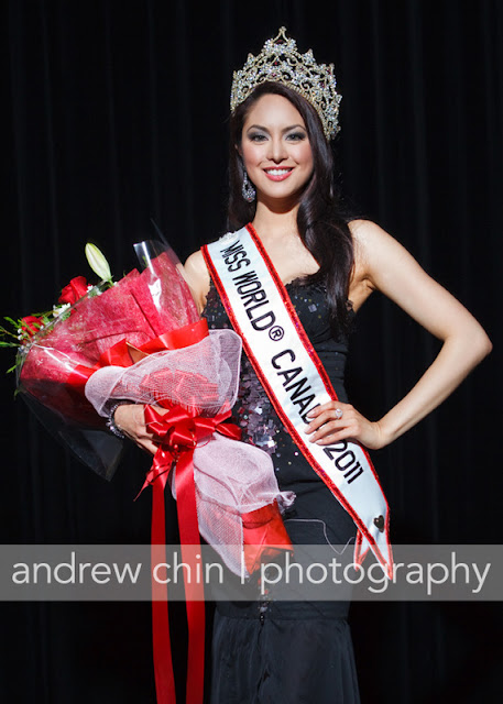 Miss World Canada 2011 Riza Santos