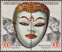 Wayang Wong Mask