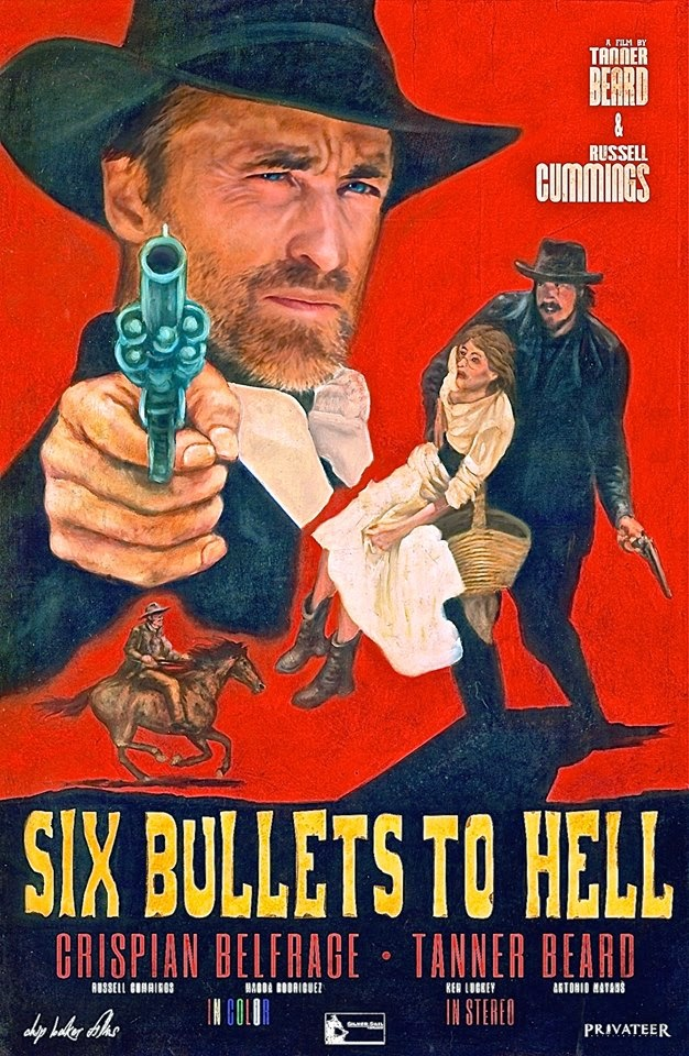 Henry's Western Round-up: '6 BULLETS TO HELL' ONE HELLUVAH RIDE ...