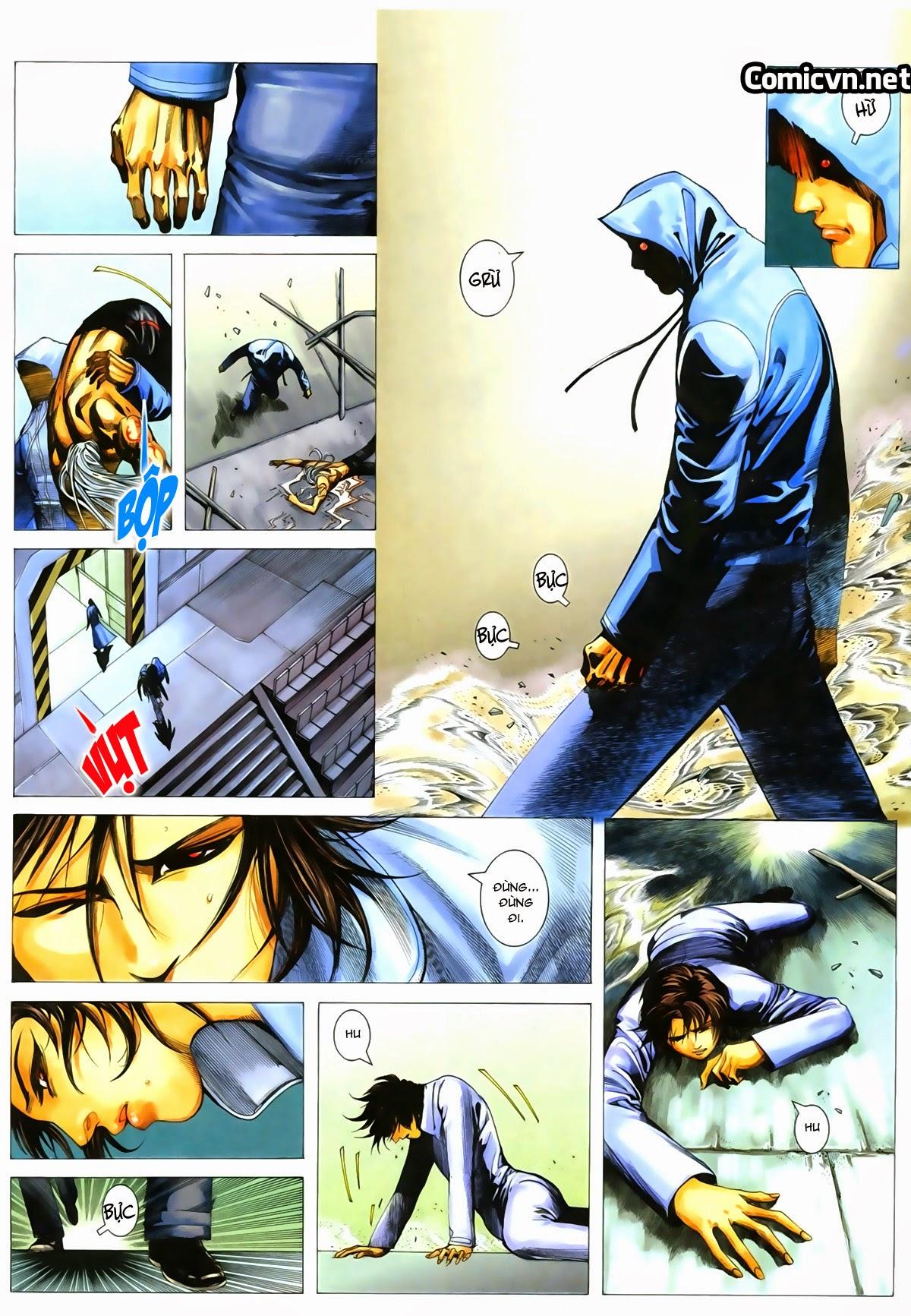 Tuyệt Địa Thiên Hành chap 8 Trang 21 - Mangak.info