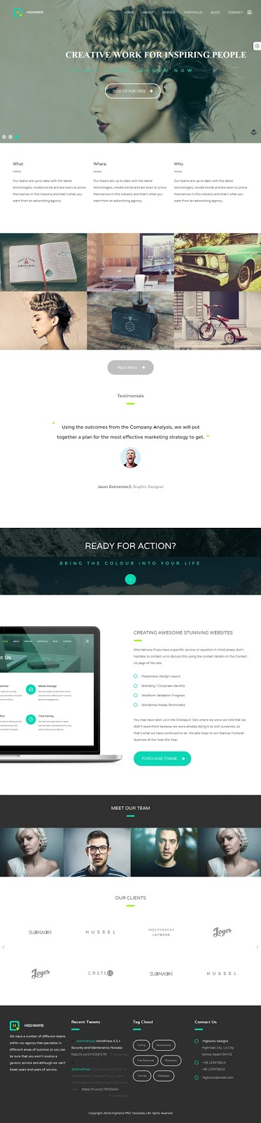 Best LayersWP Business WordPress Theme