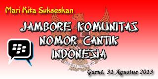 Jambore Nomor Cantik Indonesia