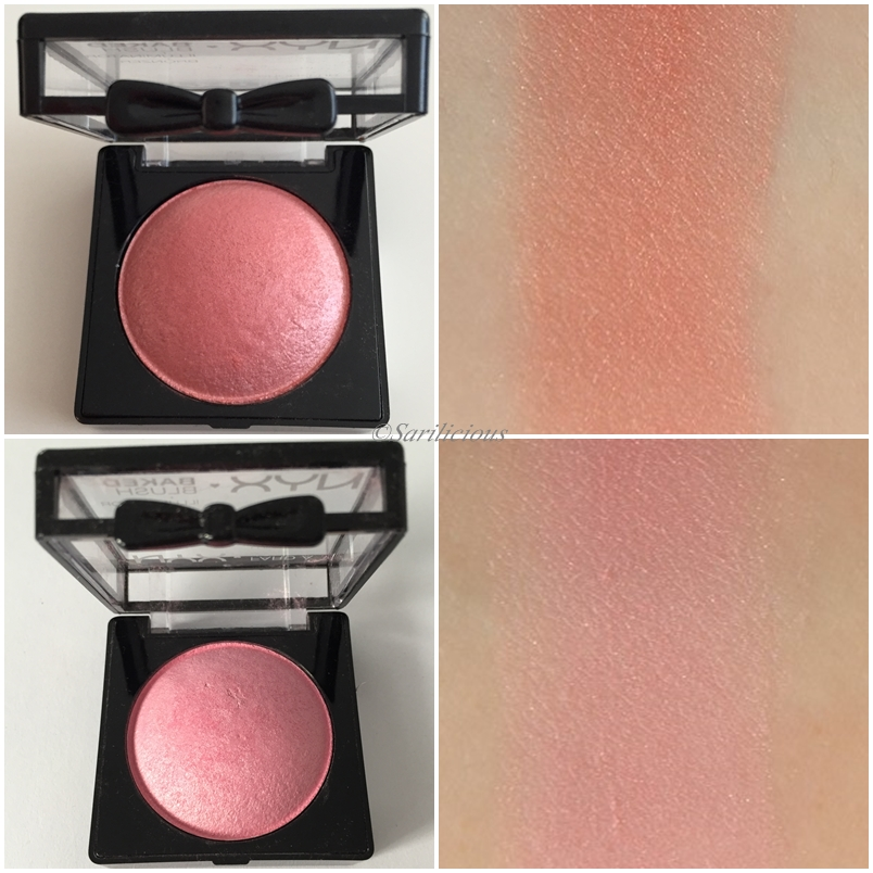 Nyx Baked Blush Journey Nyx Baked Blush Foreplay