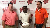 Congratulations to Vincent Steppes on being named the State Farm Lumberjack of the Week!!