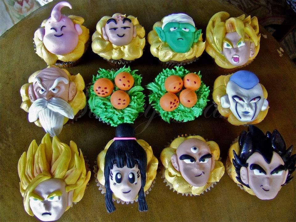 Dragonball Z Cupcakes BlakeyCakes Cakes Cupcakes