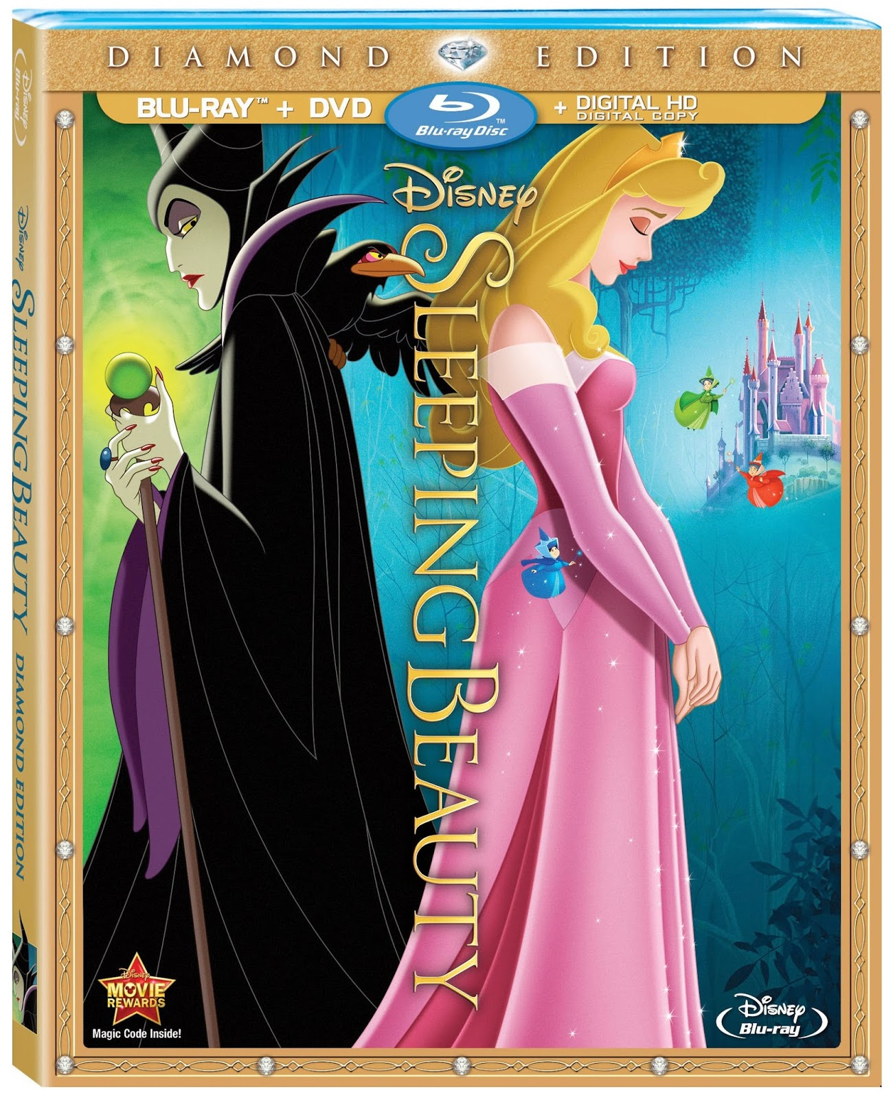 SleepingBeautyDiamondEditionBlurayCombo