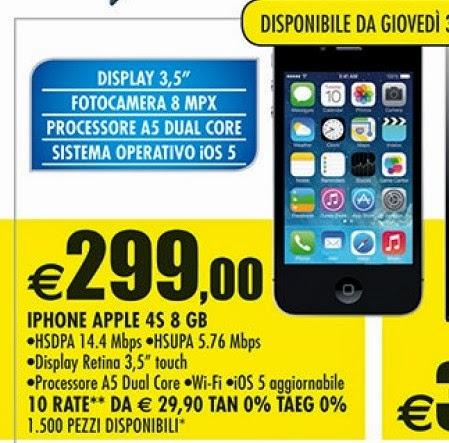 promozione 3 iphone 4s