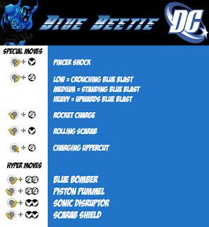 Blue Beetle Mugen Char