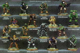 Warhammer 40000 RT7 Mercenaries