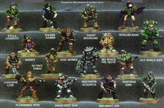 Warhammer 40000 RT7 Mercenaries