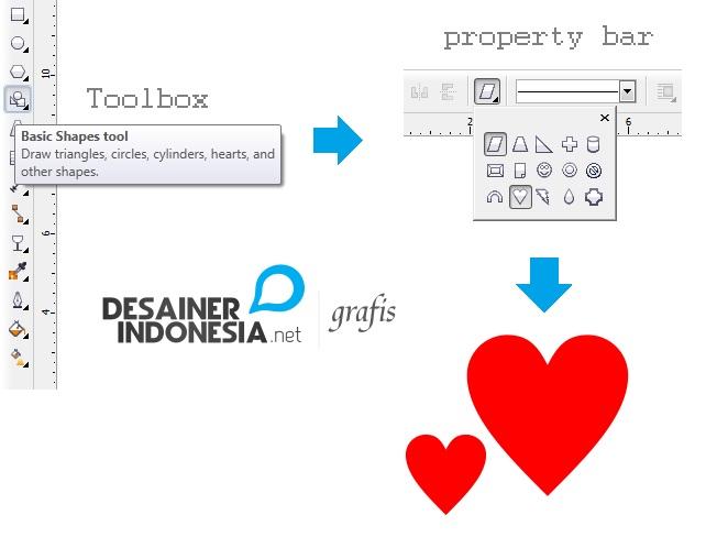 Cara Membuat Logo Hati Dengan CorelDRAW