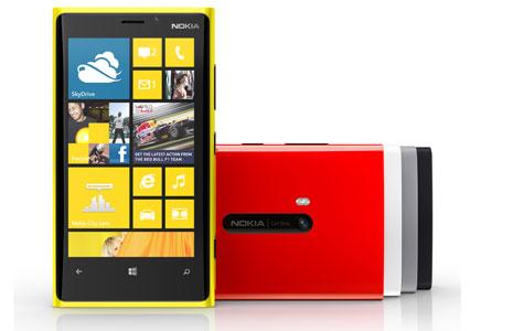 Best SmartPhones 2012: Nokia Lumia 920
