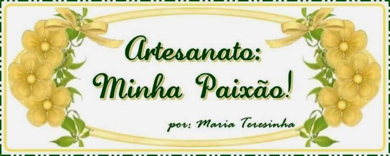 ARTESANATO MINHA PAIXÃO