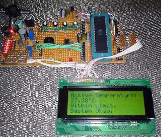 Controlador de temperatura com AVR