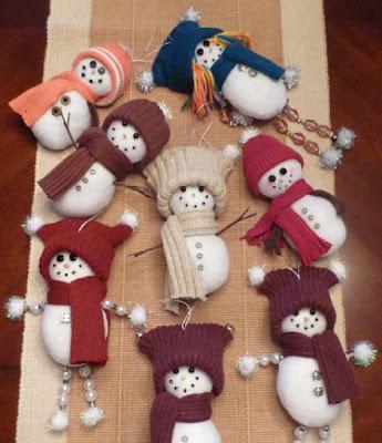 Creative snowman 1