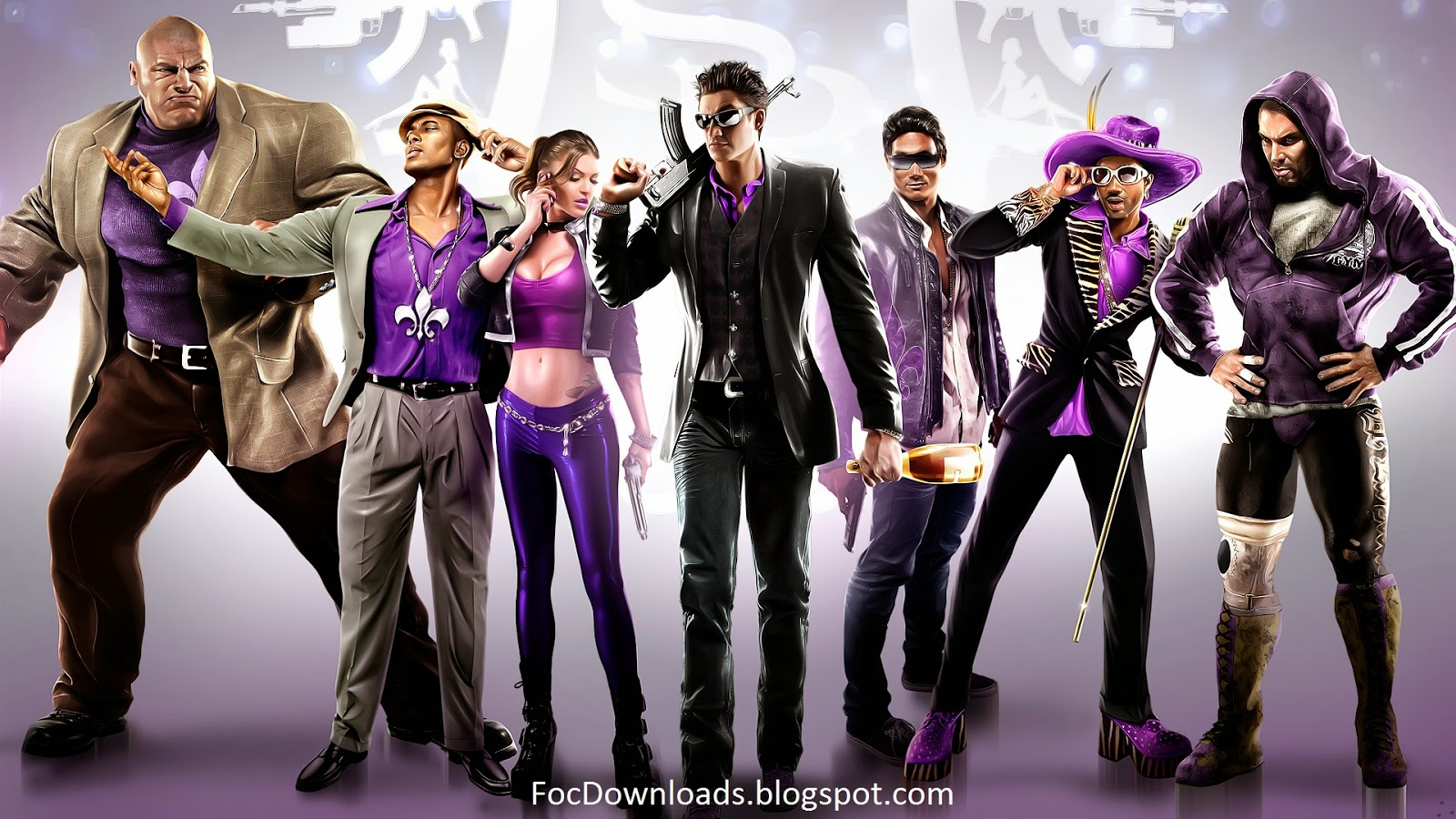 Download Saints Row - The Third - PC GAME
