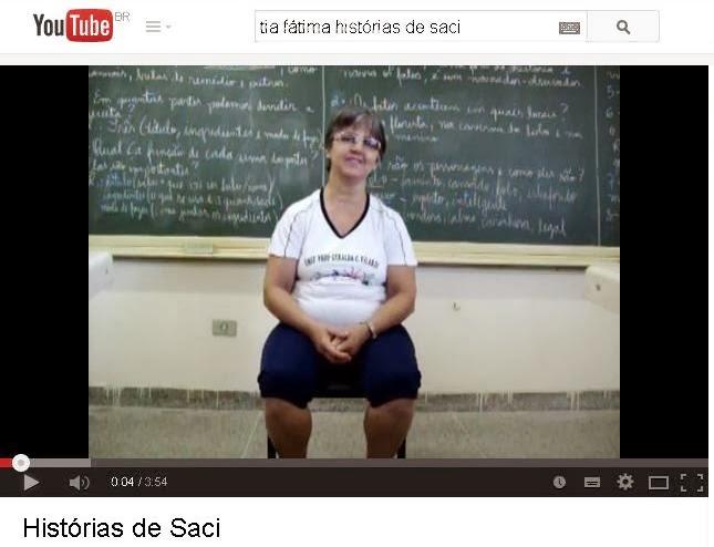 Histórias de Saci com Tia Fátima