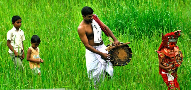 kerala-village-festival