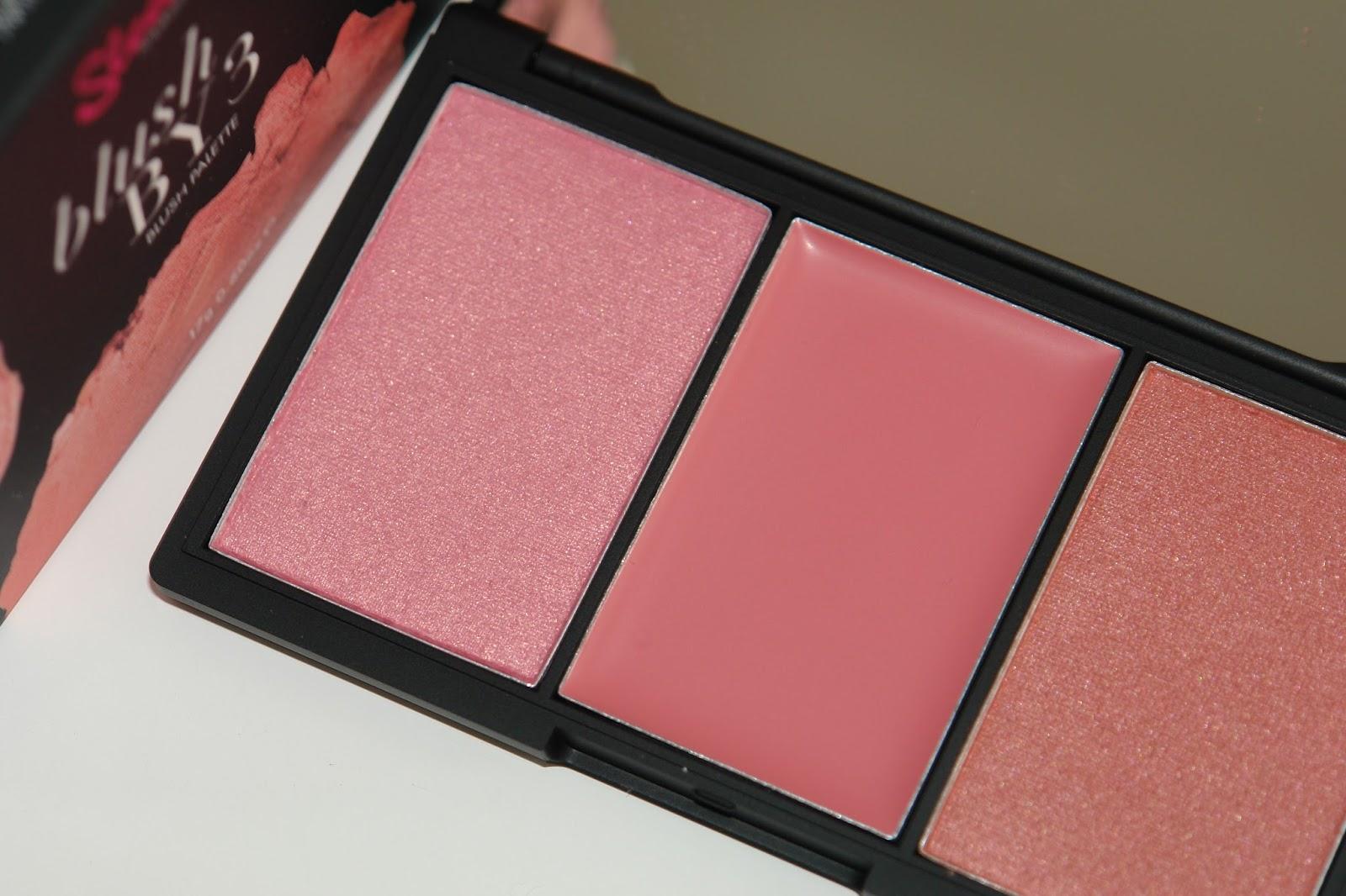 Sleek Pink Lemonade blush palette review, blusher, make up, pink, review, Sleek, UK blog, swatches, Macaroon, Icing Sugar, Pink Mint