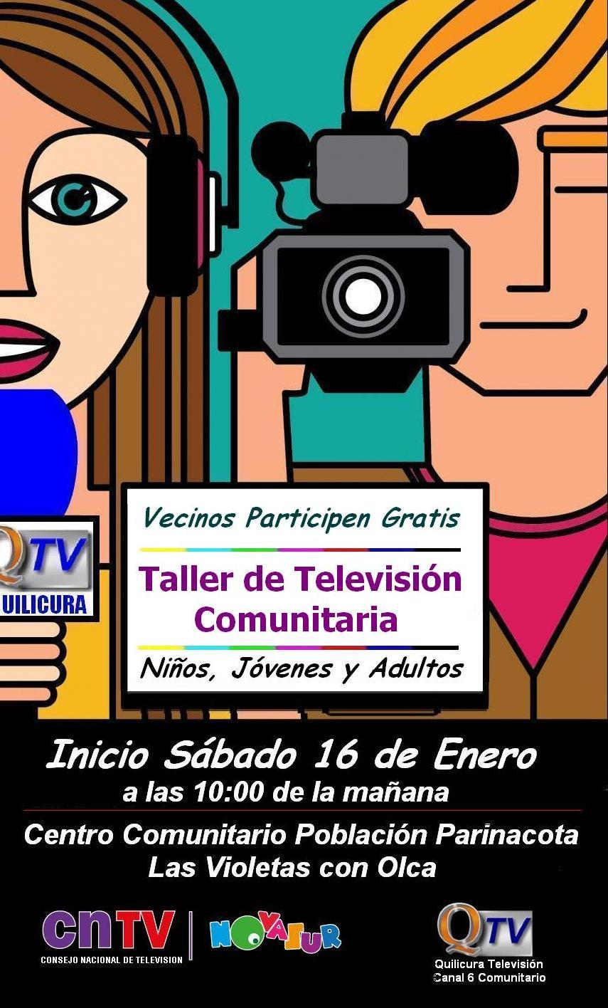 TALLERES DE VERANO Comunicación Audiovisual y  Periodismo Comunitario(Gratis)