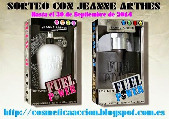"""los nuevos perfumes """"Fuel Power"""" de JEANNE ARTHES"""