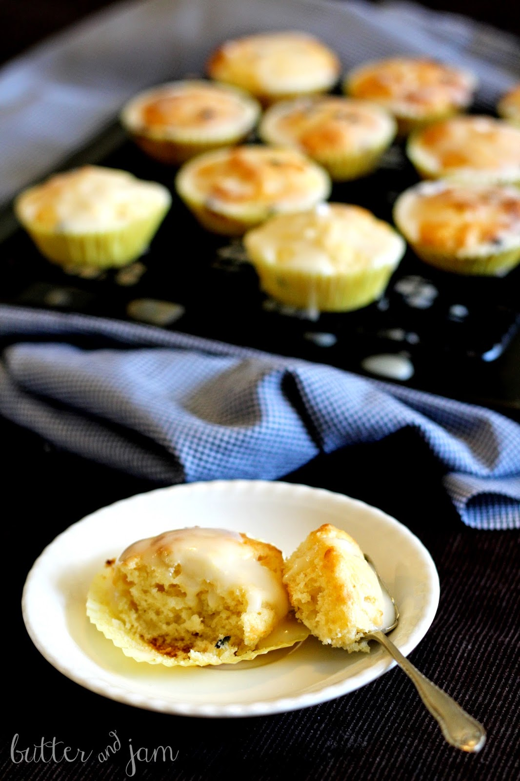 Passionfruit And White Chocolate Muffins